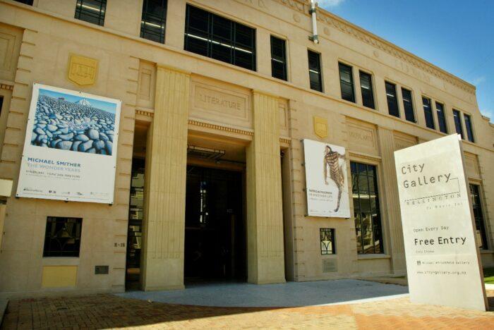 City Gallery Wellington by Rachel.healy via Wikipedia CC