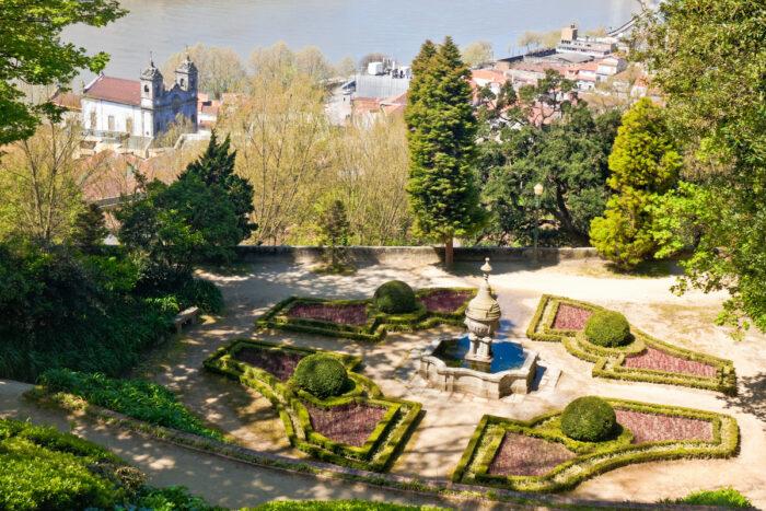 Crystal Palace gardens in Porto photo via Depositphotos