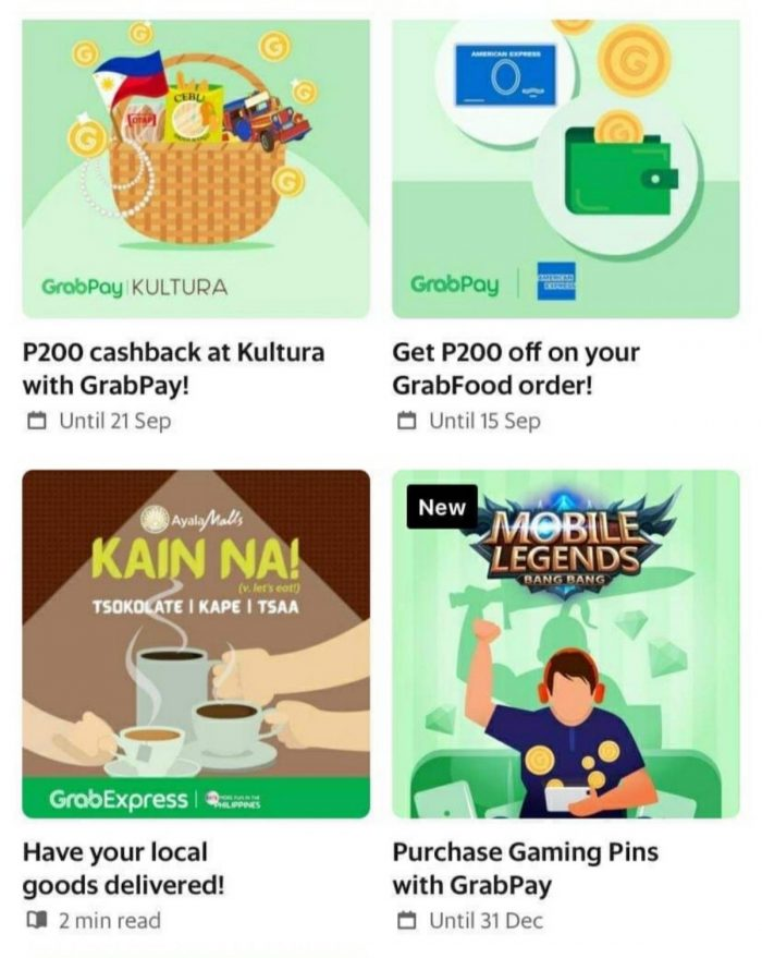 Grab Philippines rolls out a Kain Na! tile on the homepage of the Grab app to increase the discoverability of partner merchants offering chocolate, coffee, and tea products