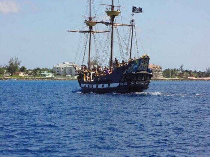 Henry Morgan Pirate Ship by Donovan Anthony Mckenzie via Facebook