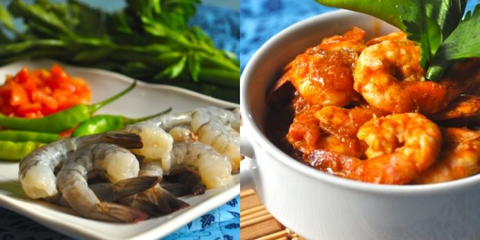 Hot and Spicy Shrimp in Tomato Recipe