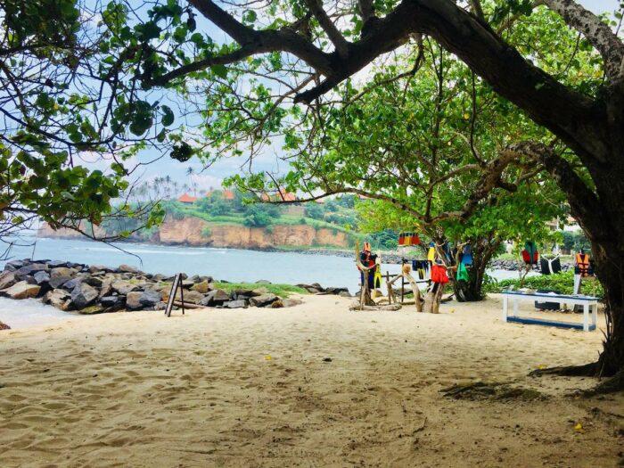 Jungle Beach Weligama photo via Turtle Bay Activities FB Page