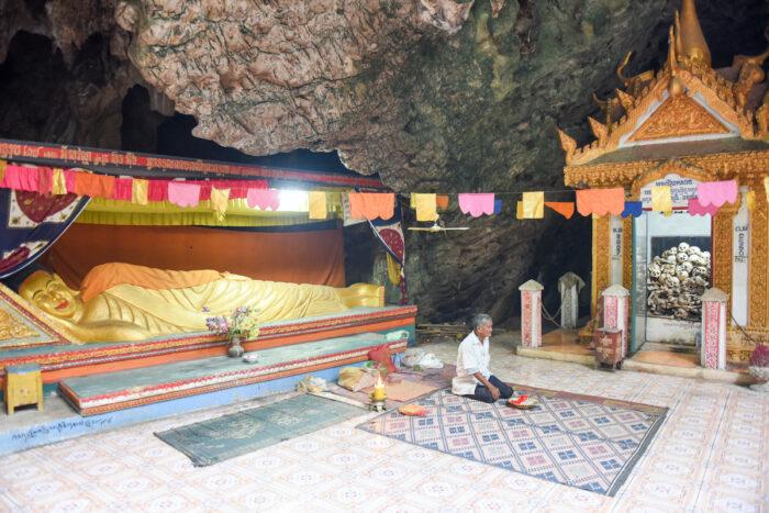 Killing caves of Phnom Sampeau at Battambang Cambodia photo via Depositphotos