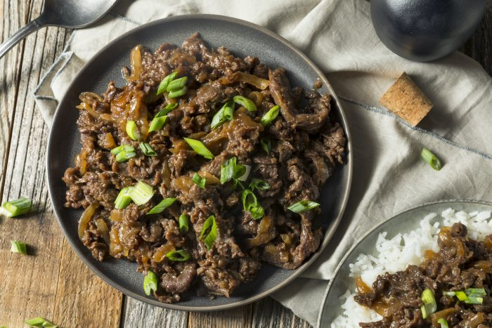 Korean Beef Bulgogi photo via Depositphotos