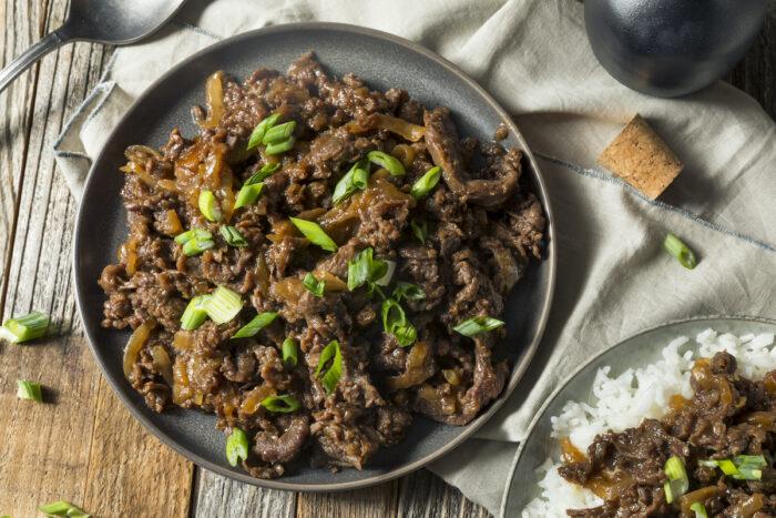 Korean Beef Bulgogi photo via Depositphotos