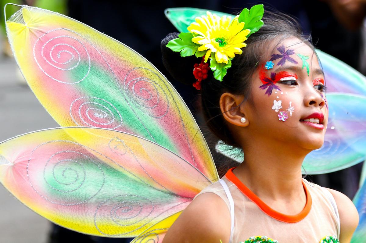Panagbenga Festival in Baguio City photo via DepositPhotos