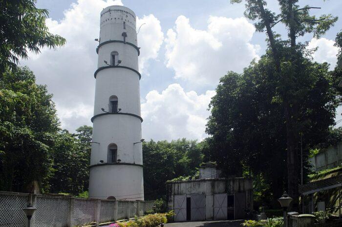 Torre del semáforo, Fort William, Kolkata por Rangan Datta Wiki