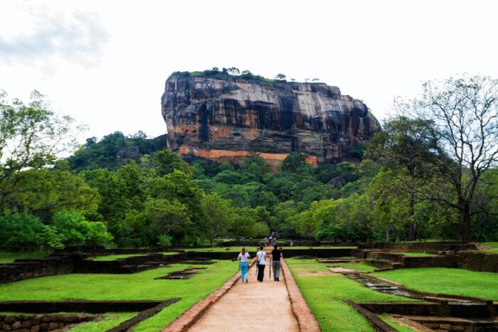 Sigiriya rock Fortress photos via Depositphotos