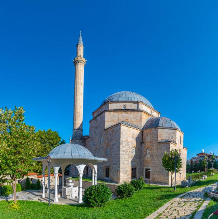 Sinan Pasha mosque in Prizren, Kosovo photo via Depositphotos