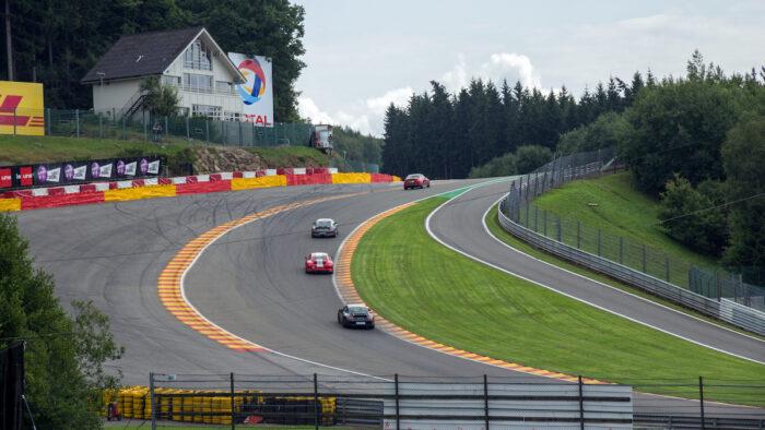Spa Francorchamps race circuit Belgium photo via Depositphotos