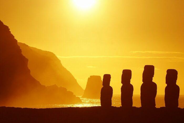 Sunrise in Easter Island