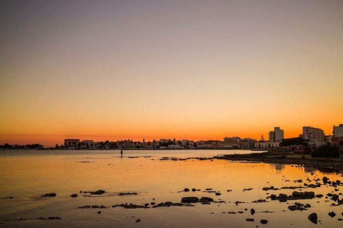 Sunset in Porto Portugal