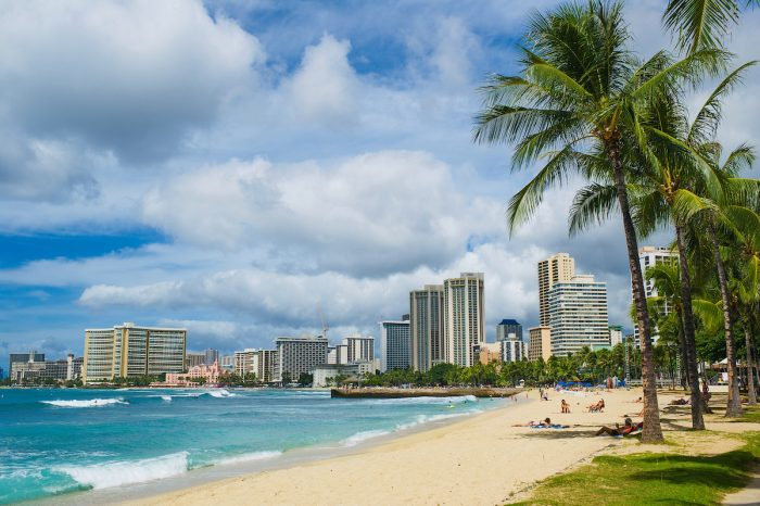 Waikiki Beach photo via Depositphotos