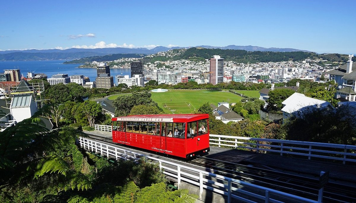 Wellington Cable Car is one of the most popular activities in Wellington NZ