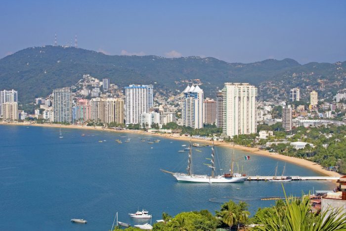 Acapulco Bay photo via Depositphotos