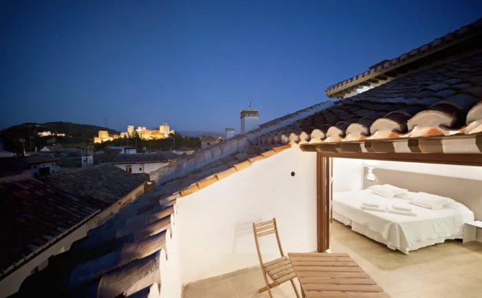 Airbnb Penthouse Rental in Granada