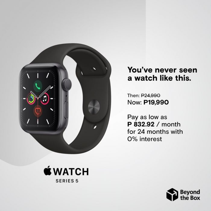 Beyond the Box Apple Watch Series 5