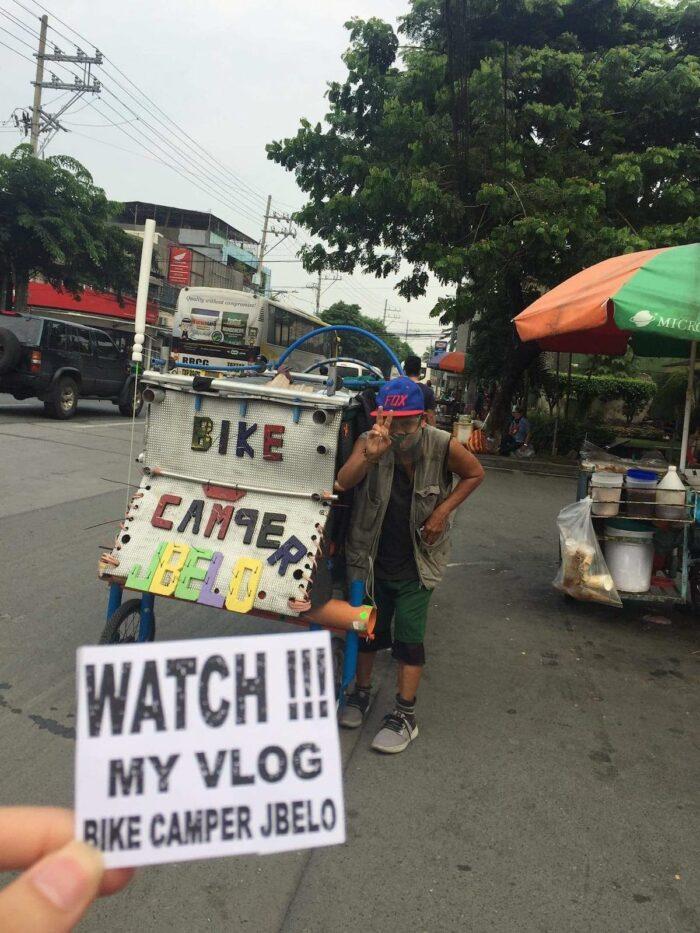 Bike Camper Joey Belo Vlog