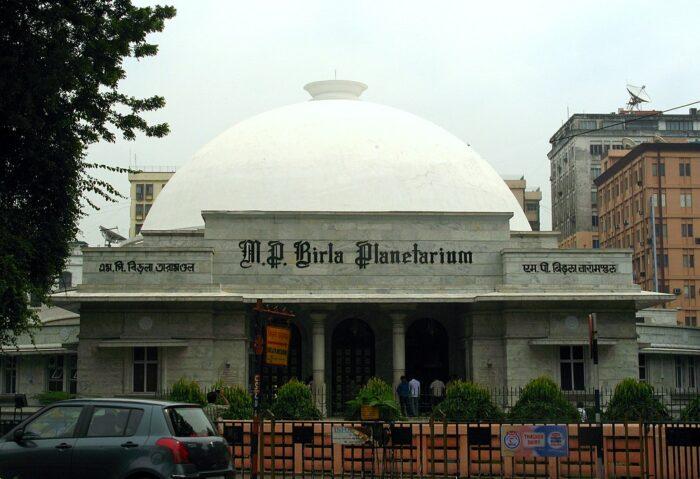 Birla Planetarium by Avrajyoti Mitra via Wikipedia CC