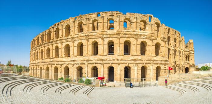El Jem Amphitheater Photo via Depositphotos