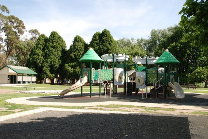 Newman Park Traralgon Photo via Film.vic.gov