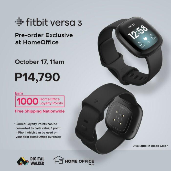 Fitbit Pre Selling Versa 3