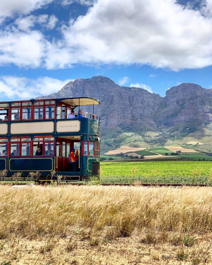 Franschhoek Wine Tram photo via FB Page