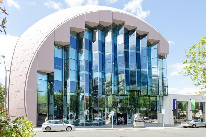 Geelong Library and Heritage Centre by Edward Blake via Wikipedia CC