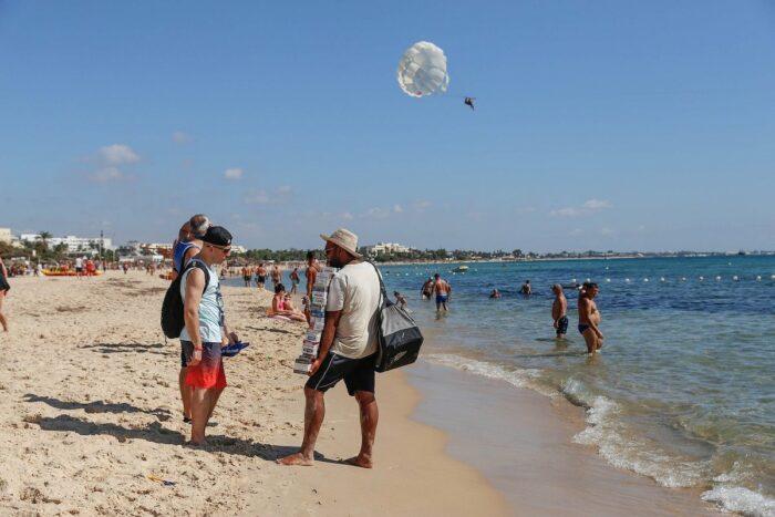 Hammamet Beach in Tunisia