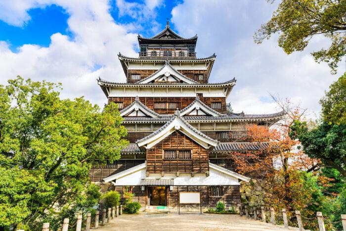 Hiroshima Castle image via Depositphotos