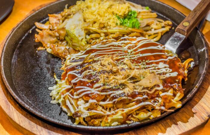 Hiroshima Okonomiyaki pictures via Depositphotos