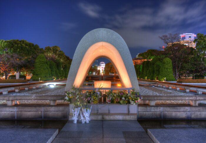 Hiroshima Peace Memorial Park photo via Depositphotos