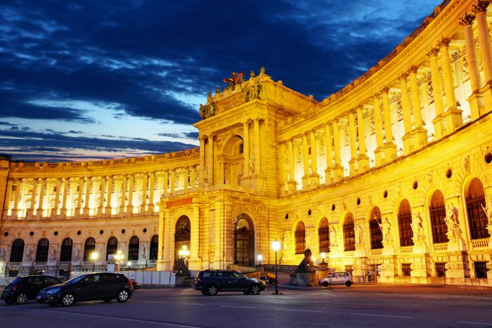 Hofburg Imperial Palace photo via Depositphotos