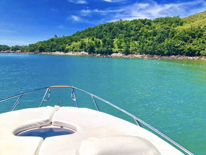 Houseboat holiday rental in Ubatuba