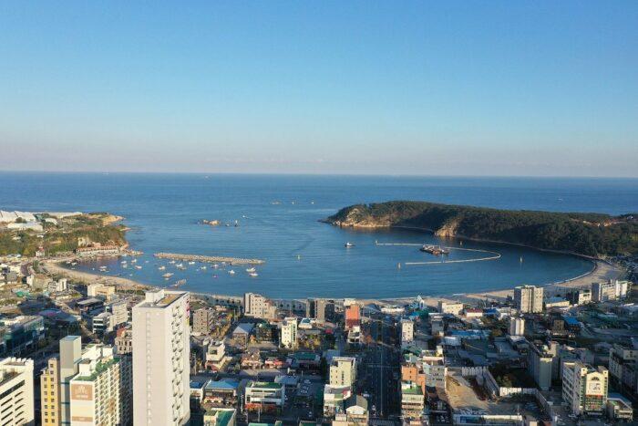 Ilsan beach Ulsan South Korea