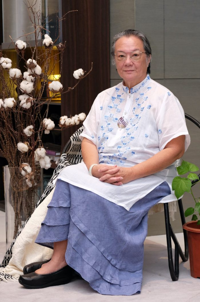 Laida Lim, president of HABI The Philippine Textile Council