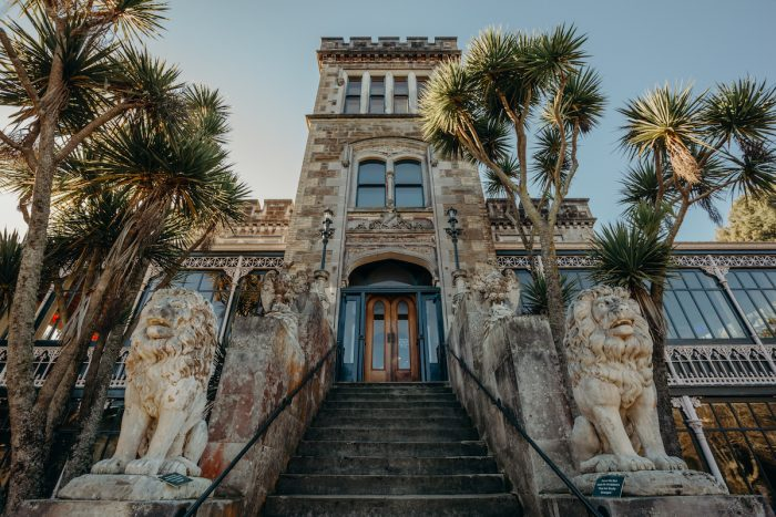 Larnach Castle photo via Depositphotos
