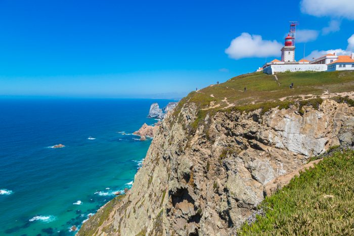 Lighthouse in Cabo da Roca photo via Depositphotos