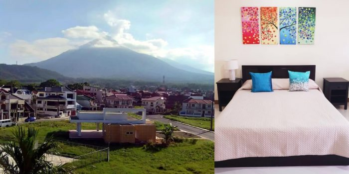 Lucban Airbnb Vacation Rental with fantastic view of Mount Banahaw