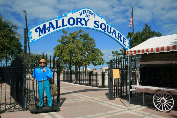 Mallory Square, Key West, Florida photo via Depositphotos