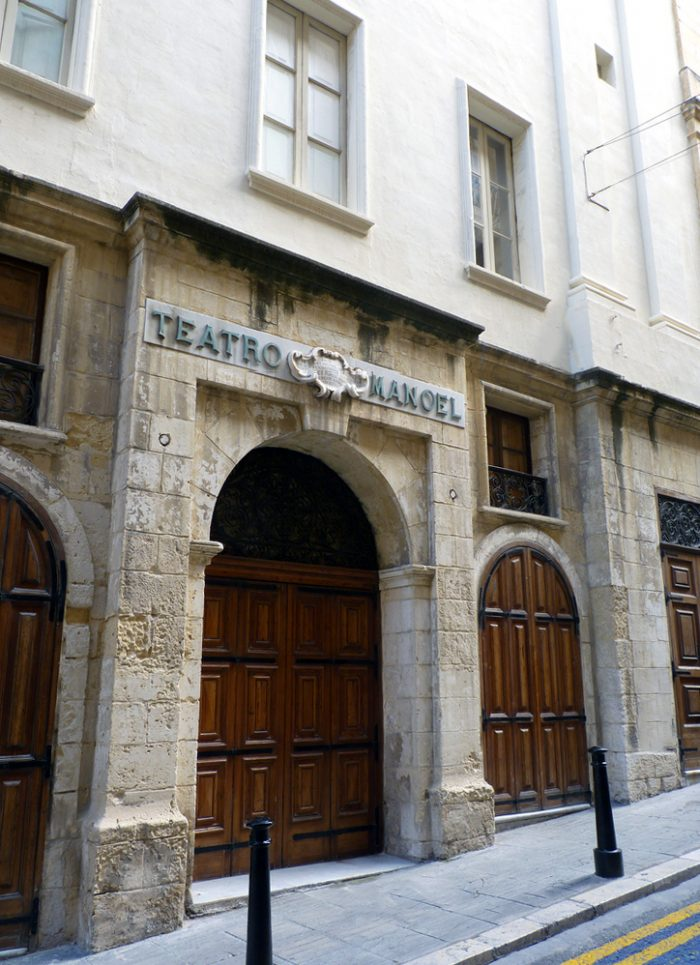 Manoel Theatre by R Muscat via Wikipedia CC