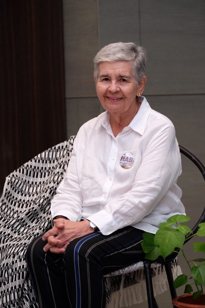 Maribel Ongpin, chairperson of HABI The Philippine Textile Council