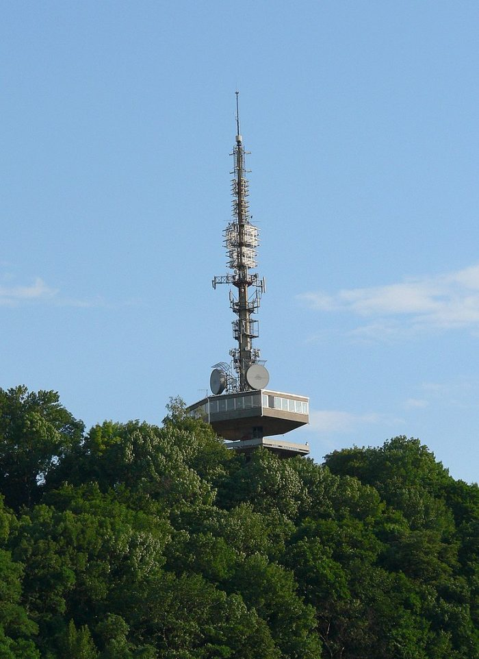 Miskolc-Avas TV Tower via Wikipedia CC