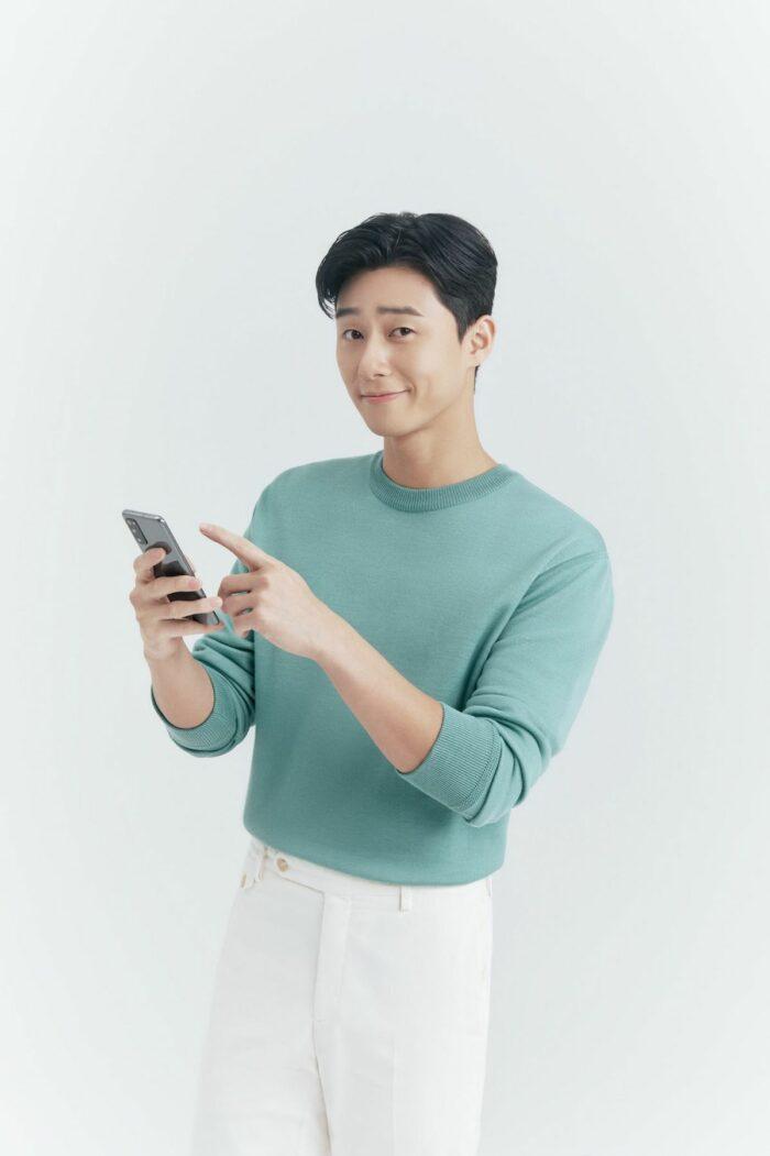 Park Seo Jun endorses Smart GIGA K-Video