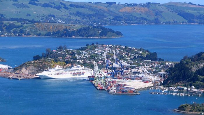 Port Chalmers by Benchill via Wikipedia CC