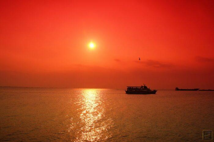 Puerto Galera Bay Sunset