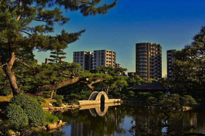 Shukkei-en Garden in Hiroshima