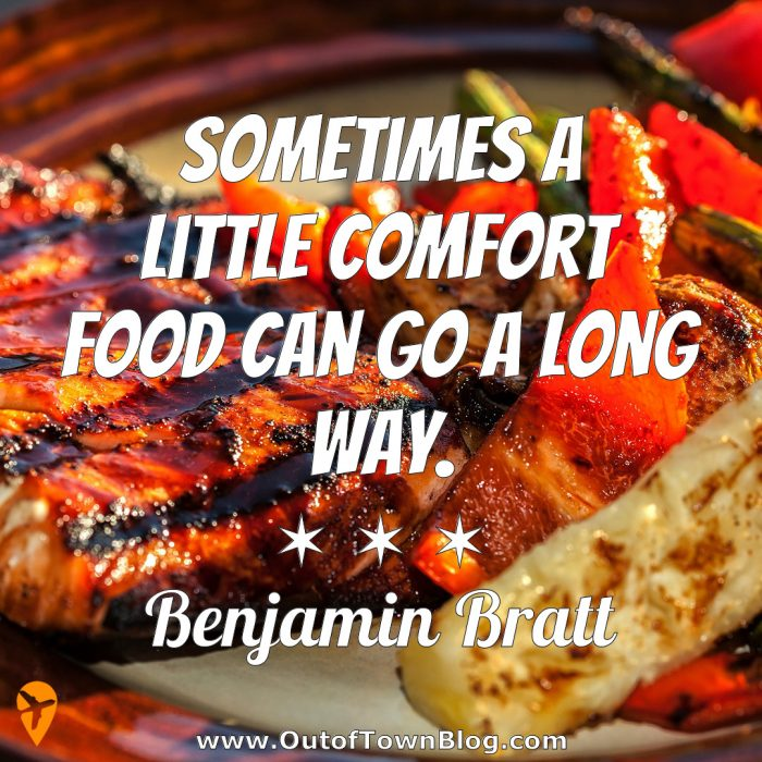 Sometimes a little comfort food - IG Captions for Food