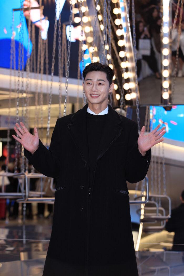 South Korean actor Park Seo-joon photo via Depositphotos