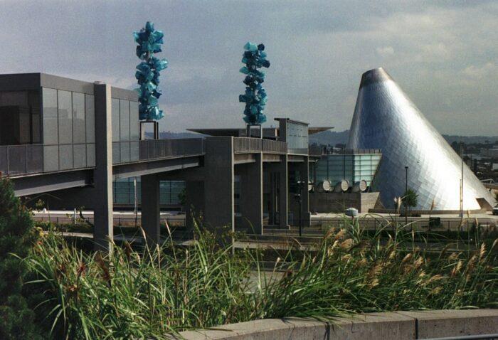 The Glass Museum in Tacoma, Washington by Maccoinnich via Wikipedia CC
